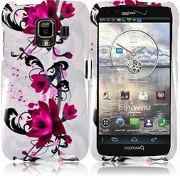 For Verizon Pantech Perception Hard Case Phone Cover White P