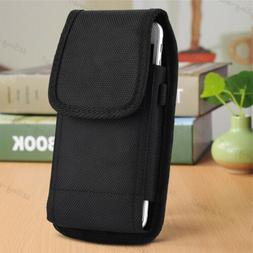 Phone Case Cover Pouch Holster Vertical Belt Clip Loop for C