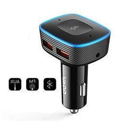 Roav VIVA Pro, by Anker, Alexa-Enabled 2-Port USB Car Charge