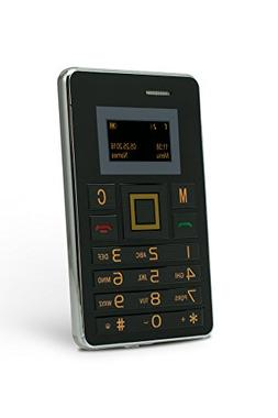 SLIDE Wallet Size Unlocked mini Cell Phone, Worldwide 2G GSM