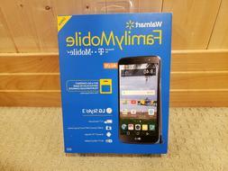 Walmart Family Mobile LG Stylo 3 16GB Prepaid 4G LTE Smartph