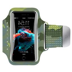 Water Resistant Cell Phone Armband for iPhone8 Plus, 7 Plus,