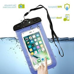 Waterproof Case, Firefish Wallet Bag Dirtproof Snowproof Pou