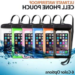 Waterproof Phone Bag Pouch Underwater Swimming Cell Phone Ca