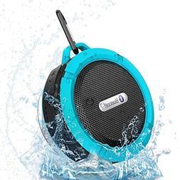 Hipipooo Waterproof Wireless Portable Bluetooth Speaker Supp