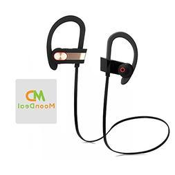 Wireless Sport Bluetooth Headset, Lightweight, Sweatproof, E