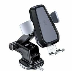 VANMASS Wireless Car Charger, Auto-Clamp Qi Car Mount, 10W/7