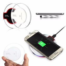 Mobile Phones Qi Wireless Fast Charger Charging Pad Mat Dock