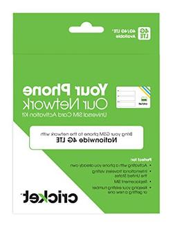 Cricket Wireless Prepaid GSM SIM Card -  | Bring Your Own De