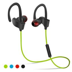Wireless Sport Headset 4.1 Stereo Headphone Earphone For Mob