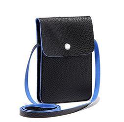 eBuymore Women Girl's PU Leather Crossbody Bag Wallet Purse
