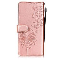 Ivy  Wrist Strap PU Leather FILP Cover Wallet Phone Cases fo