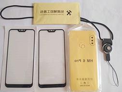 CYTT Xiaomi Redmi 6 Pro Tempered Glass Screen Protector(2p