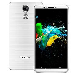 Xgody Y14 6 Inch Dual SIM Cell Phones Unlocked Android 5.1 L