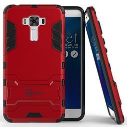 Zenfone 3 Laser Case, CoverON  Hard Slim Hybrid Kickstand Ph