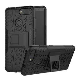 Zenfone Max Plus Case M1,Mustaner Dual Layer Shock-Absorptio