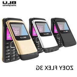 BLU Zoey Flex 3G - Factory GSM Unlocked AT&T T-Mobile Flip P