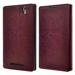 ZTE Warp Elite N9518 Case  - Stylish Design Deluxe PU Leathe
